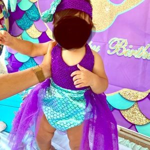Other - 12 month inspired mermaid dress